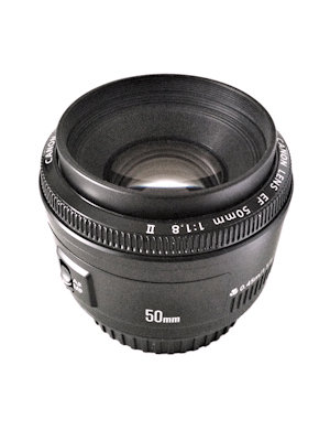 An example of a 50mm lens