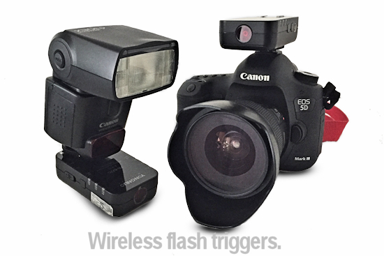 example of flash triggers wireless