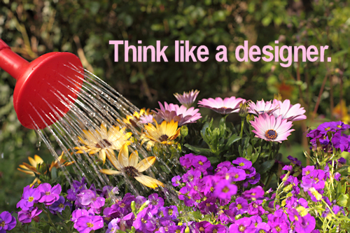 think like a designer example
